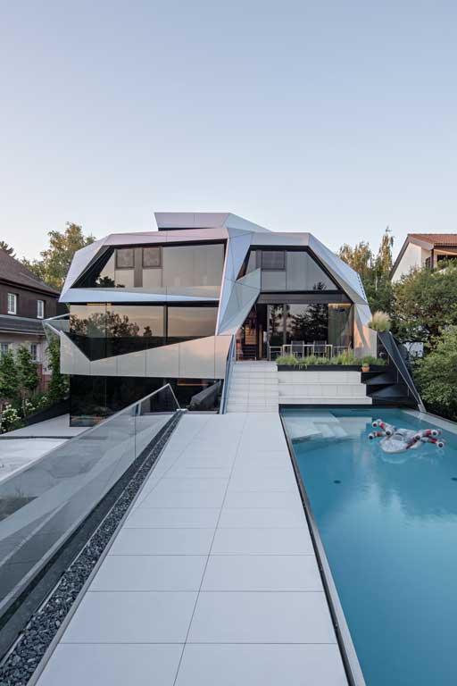 Ad2 Architekten Einfamilienhaus Wohnhaus Moderne Architektur Burgenland Austria Wien